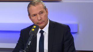 Jean-Michel Fauvergue, député LREM et ancien patron du Raid, sur franceinfo. (CAPTURE ECRAN / FRANCEINFO)