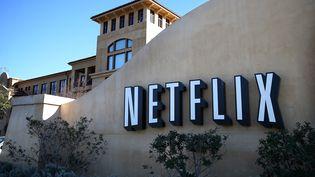 Le siège de l'entreprise américaine Netflix, à Los Gatos, en Californie (Etats-Unis), le 22 janvier 2014. (JUSTIN SULLIVAN / GETTY IMAGES NORTH AMERICA / AFP)