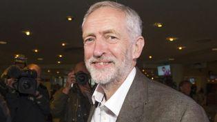 Jeremy Corbyn, le plus à gauche des quatre prétendants à la direction du Labour. (AFP PHOTO / LESLEY MARTIN)