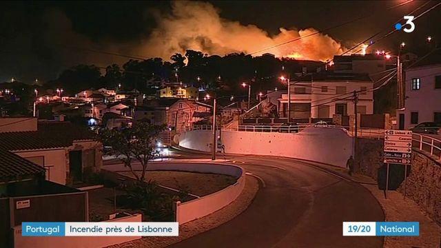 Portugal :Portugal : un incendie ravage la région touristique de Sintra un incendie ravage la région touristique de Sintra