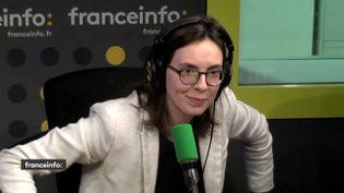 La députée LREM de la 6e circonscription de l'Essonne, Amélie de Montchalin, était l'invitée de L'interview J-1, mercredi 20 décembre sur franceinfo. (FRANCEINFO / RADIO FRANCE)
