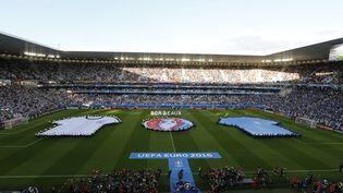 Le stade Matmut Atlantique de Bordeaux avant le quart de finale de l'Euro entre l'Allemagne et l'Italie, le 2 juillet 2016. (REGIS DUVIGNAU / REUTERS)