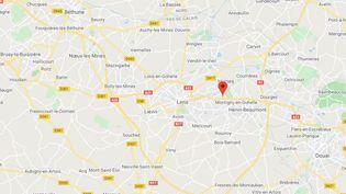 Ecole Jean Macé,Fouquières-lès-Lens (Pas-de-Calais). (CAPTURE ECRAN GOOGLE MAPS)