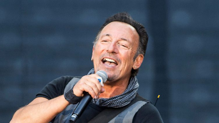 Bruce Springsteen en concert à Berlin le 19 juin 2016  (Paul Zinken / Epa / MaxPPP)