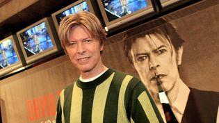 David Bowie le 10 septembre 2002 à Paris  (Franck Fife / AFP)