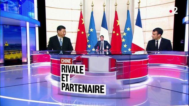Commerce : la Chine, rivale et partenaire de la France