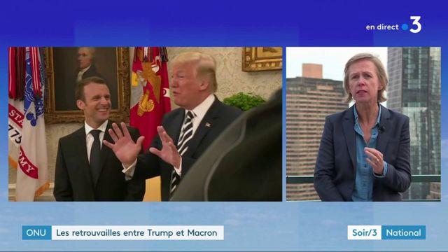 Macron rencontre Trump avant l'Assemblée générale de l'ONU