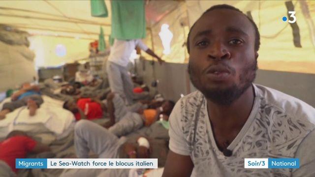 Migrants : bras de fer entre le Sea-Watch et l'Italie