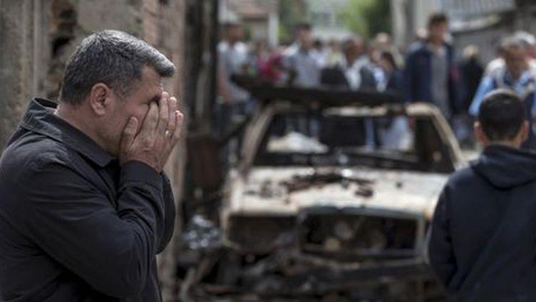Après les affrontements de Kumanovo (nord de la Macédoine) le 11 mai 2015... (REUTERS - Marko Djurica)