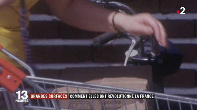 Commerce : comment les grandes surfaces ont révolutionné la France
