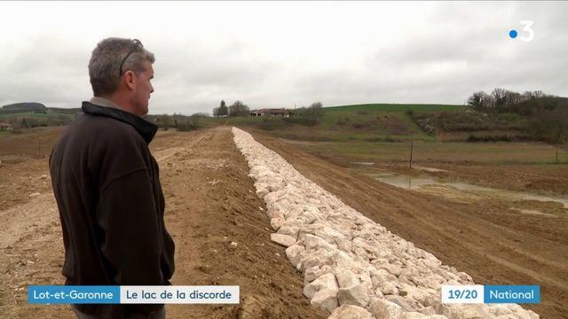 Lot-et-Garonne : le lac de la discorde