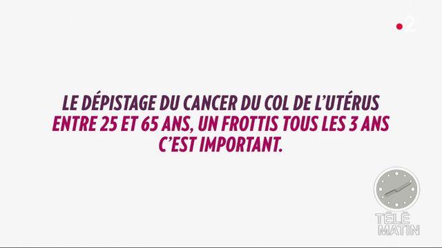 cancer col de l'uterus