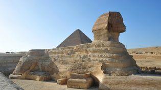 ScanPyramids, un projet amitieux, vise à dévoiler les mystères autour de la pyramide de Kheops, sur le plateau de Guizeh.  (ANTOINE LORGNIER / ONLY WORLD / Only France)