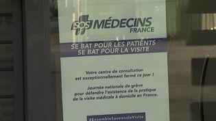 SOS Médecins : les généralistes en grève pour demander une revalorisation de la visite à domicile (FRANCE 2)