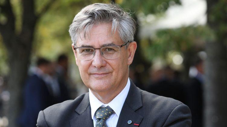 Guillaume Denoix de Saint Marc, le 19 septembre 2018, à Paris. (LUDOVIC MARIN / POOL)