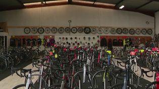 Délinquance : des vélos volés qui font l'objet d'un trafic lucratif à l'international (France 2)