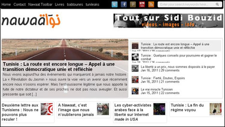 Le site Nawaat.org
