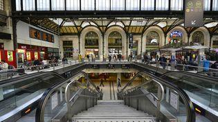 L'agression a eu lieu à proximité d'un escalator de la gare de Lyon, à Paris, lundi 15 février 2016. (DANIEL AUDUC / PHOTONONSTOP / AFP)