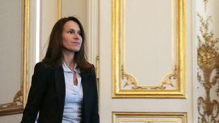 Aurélie Filippetti à Matignon (19 juin 2014)  (Jacques Demarthon / AFP)