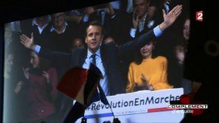 Emmanuel Macron (CAPTURE ECRAN FRANCE 2)