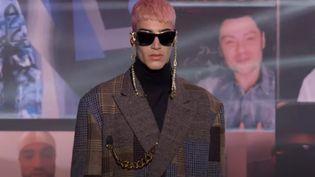 Capture d'écran de la collection automne-hiver 2021-22 de Dolce&Gabbana présentée en ligne le 1er février 2021 (DOLCE&GABBANA)