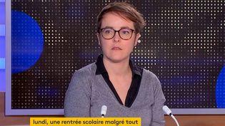Élisabeth Kutas (Capture d'écran Franceinfo)