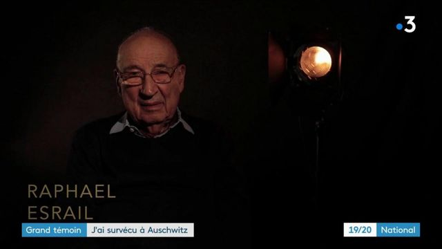 Grand témoin : Raphaël Esrail, survivant d'Auschwitz