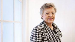 """""""Madame le professeur"""" Françoise Barré Sinoussi, co-découvreuse du virus du Sida en 1983, prix Nobel de médecine en 2008, prend sa retraite, samedi 28 mars 2015. (ACADEMY OF MEDICAL SCIENCE / FLICKR)"""