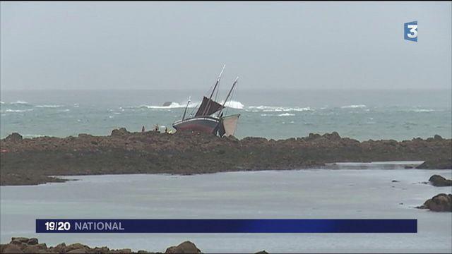Bretagne : La Belle Angèle fait naufrage