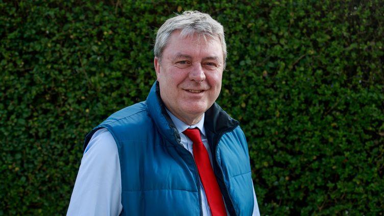 Le candidat PCF à la mairie du Havre Jean-Paul Lecoq, le 6 mars 2020. (SAMEER AL-DOUMY / AFP)
