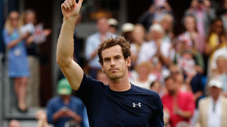 Andy Murray  (JUSTIN TALLIS / AFP)