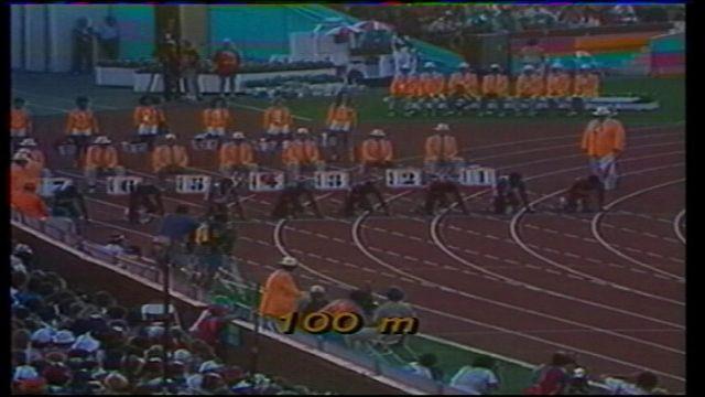 100 m 84
