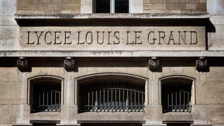 Le lycée Louis Le Grand à Paris, le 27 mai 2020. (MARTIN NODA / HANS LUCAS / AFP)