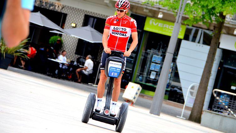 Les coureurs peuvent également tester de nouveaux moyens de locomotion... (PICASA)
