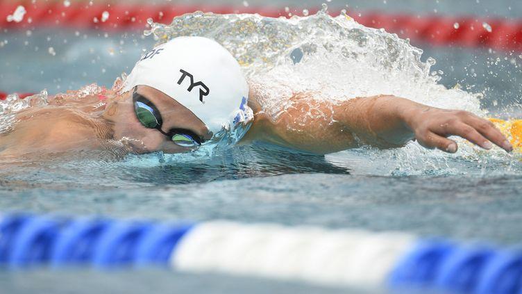 La nageuse française Charlotte Bonnet.
