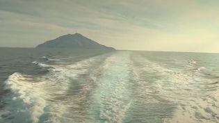 Seules1000 personnes par an peuvent visiter l'Île deMontecristo, située en Italie.Une réserve naturelle où l'on peut admirer la nature sauvage. (France 2)