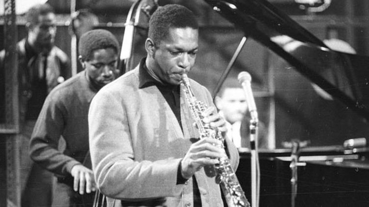 John Coltrane vers 1959 en Allemagne  (Michael Ochs / Archives / Getty Images)