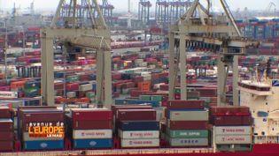 """Avenue de l'Europe. """"Péril jaune"""" sur le port de Hambourg (FRANCE 3)"""