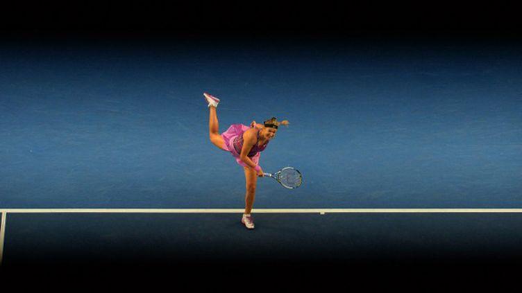 Victoria Azarenka (PAUL CROCK / AFP)