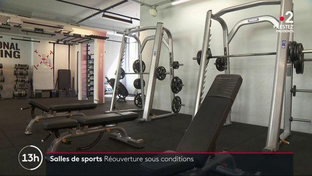 Salles de sport : réouverture sous conditions