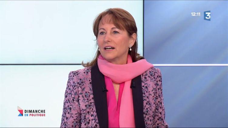 Segolene Royal (CAPTURE D'ÉCRAN FRANCE 3)