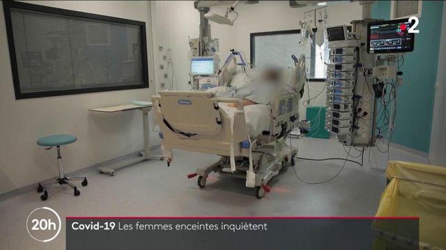 Covid-19 : l'inquiétude autour des femmes enceintes malades