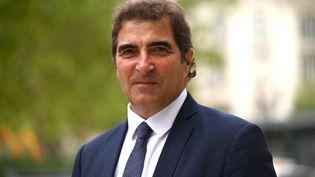 Christian Jacob, leprésident du parti Les Républicains, à Nimes (Gard) le 9 septembre 2021. (PASCAL GUYOT / AFP)