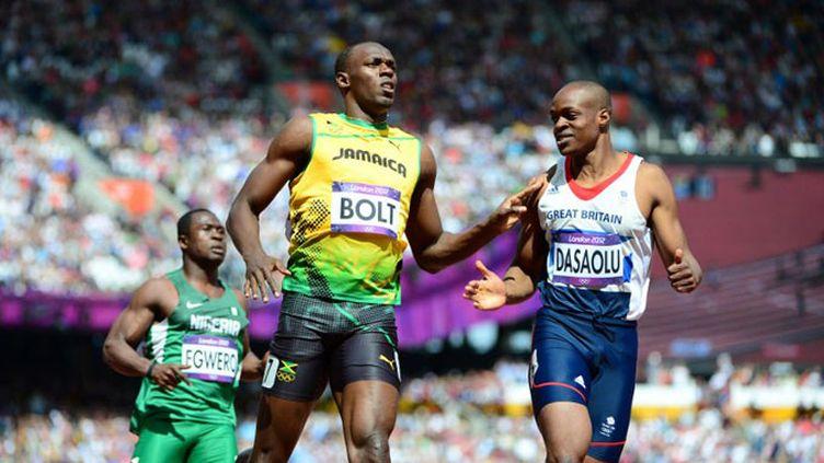 Usain Bolt facile en série du 100m