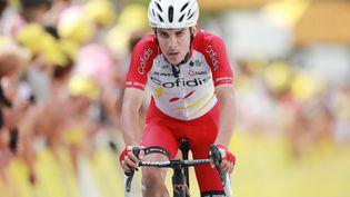 Guillaume Martin lors de la 11e étape du Tour de France 2021. (CHRISTOPHE PETIT-TESSON / EPA / MAXPPP)