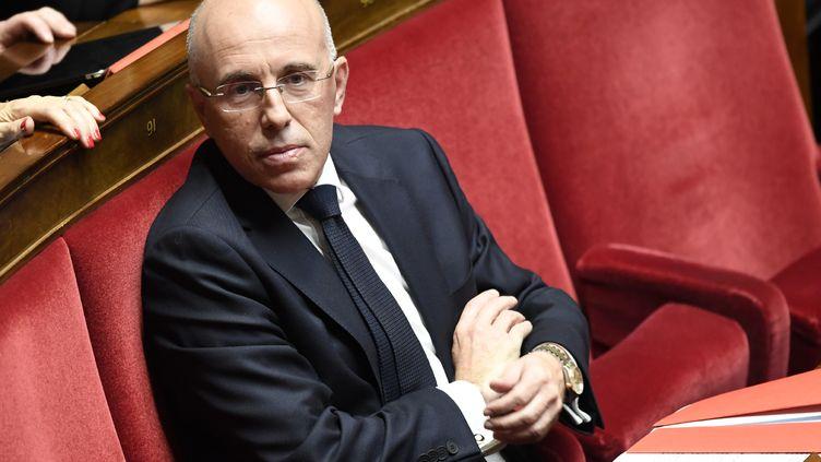 Le député des Alpes-Maritimes Eric Ciotti, le 21 novembre 2017, à l'Assemblée nationale. (BERTRAND GUAY / AFP)