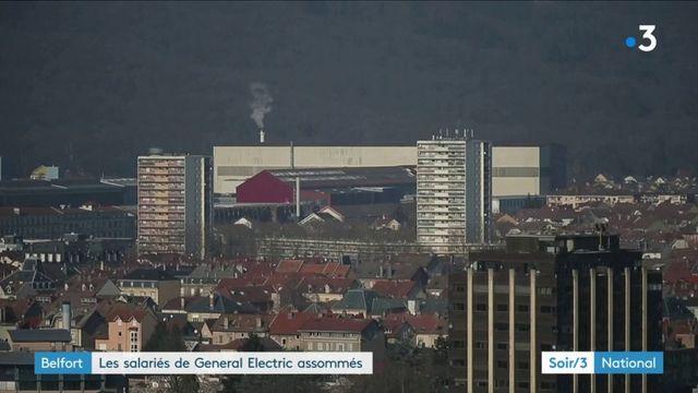 Belfort : coup de massue pour les salariés de General Electric