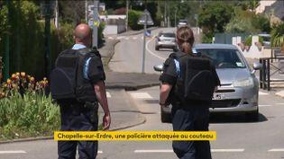 Un homme a attaqué une policière municipale puis blessé deux gendarmes, vendredi 28 mai, à la Chapelle-sur-Erdre (Loire-Atlantique). L'assaillant a finalement été abattu. (FRANCEINFO)