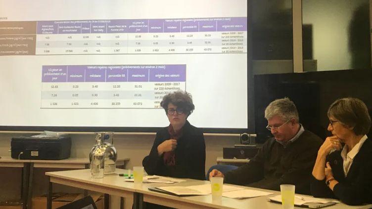 Atmo Normandie présentait les résultats des taux de polluants dans l'air (Théophile Pedrola)