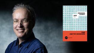 L'auteur de bande dessinée Emmanuel Guibert, 30 janvier 2020 (JOEL SAGET / AFP)